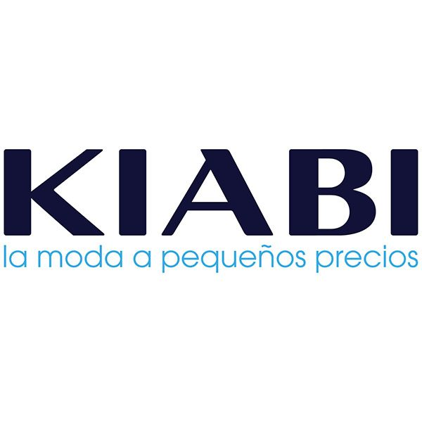Logotipo de Kiabi fondo blanco para delivertia influencers y famosos