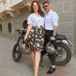 Cover Couple Javier y Virginia con la moto